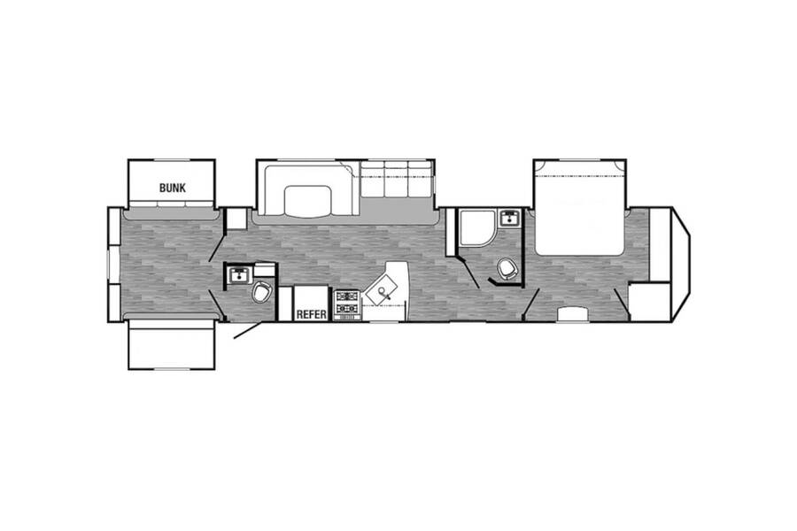 Floor plan for STOCK#3552A
